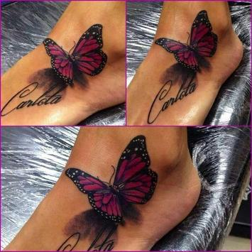 Butterfly Tattoos poster