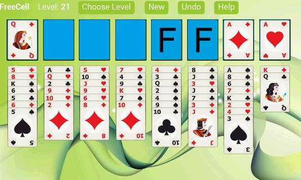 FreeCell Solitaire X apk screenshot