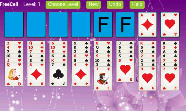 FreeCell Solitaire X poster
