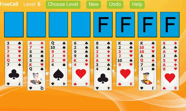 FreeCell Solitaire X screenshot 1