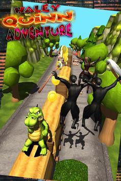 Harley Quinn and joker subway run - free 3d runner screenshot 1