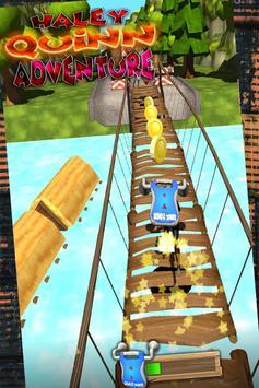 Harley Quinn and joker subway run - free 3d runner screenshot 2