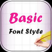 Basic Font Style icon