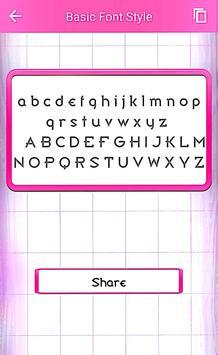 Basic Font Style screenshot 2