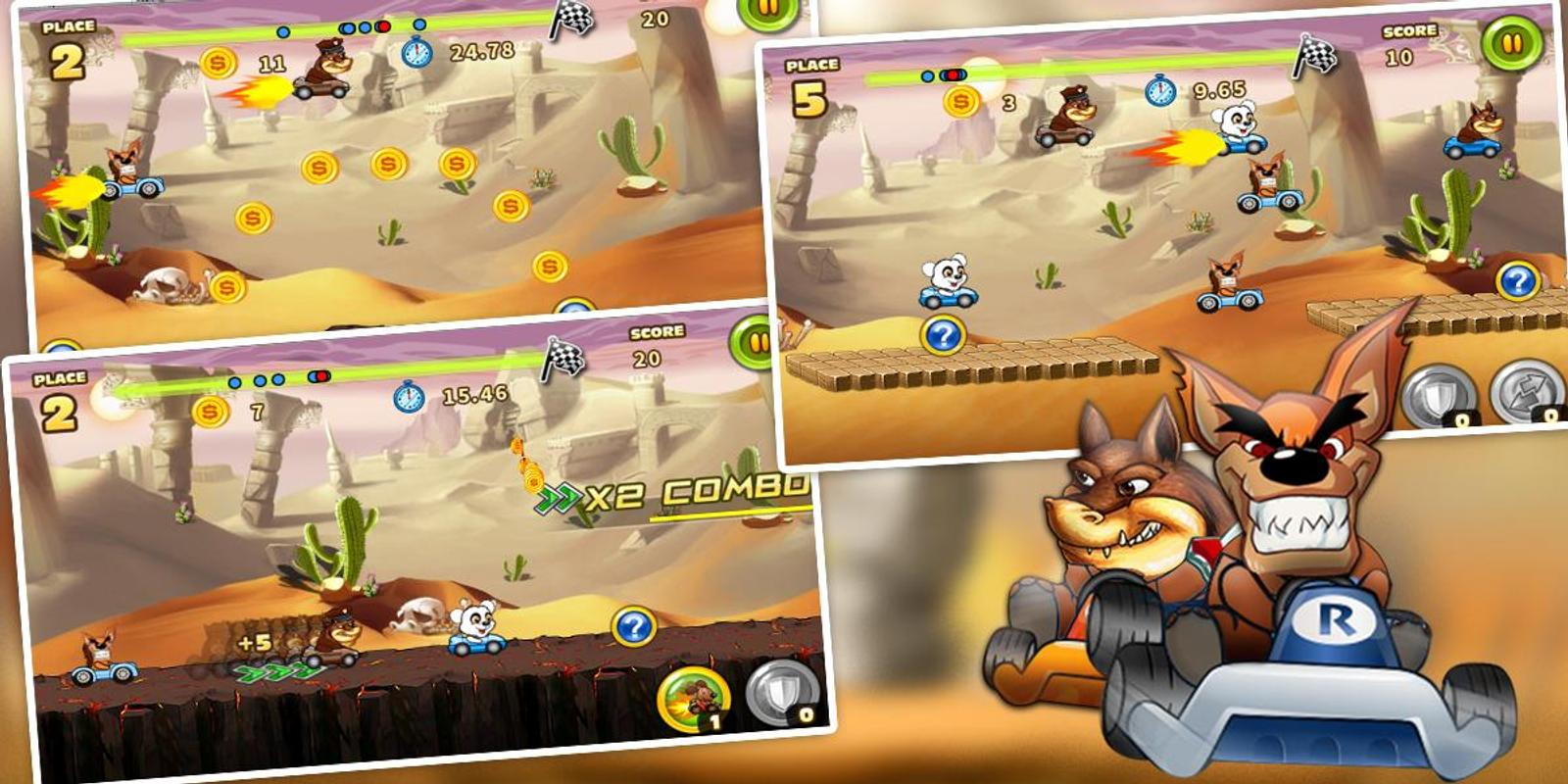 crash bandicoot racing android apk