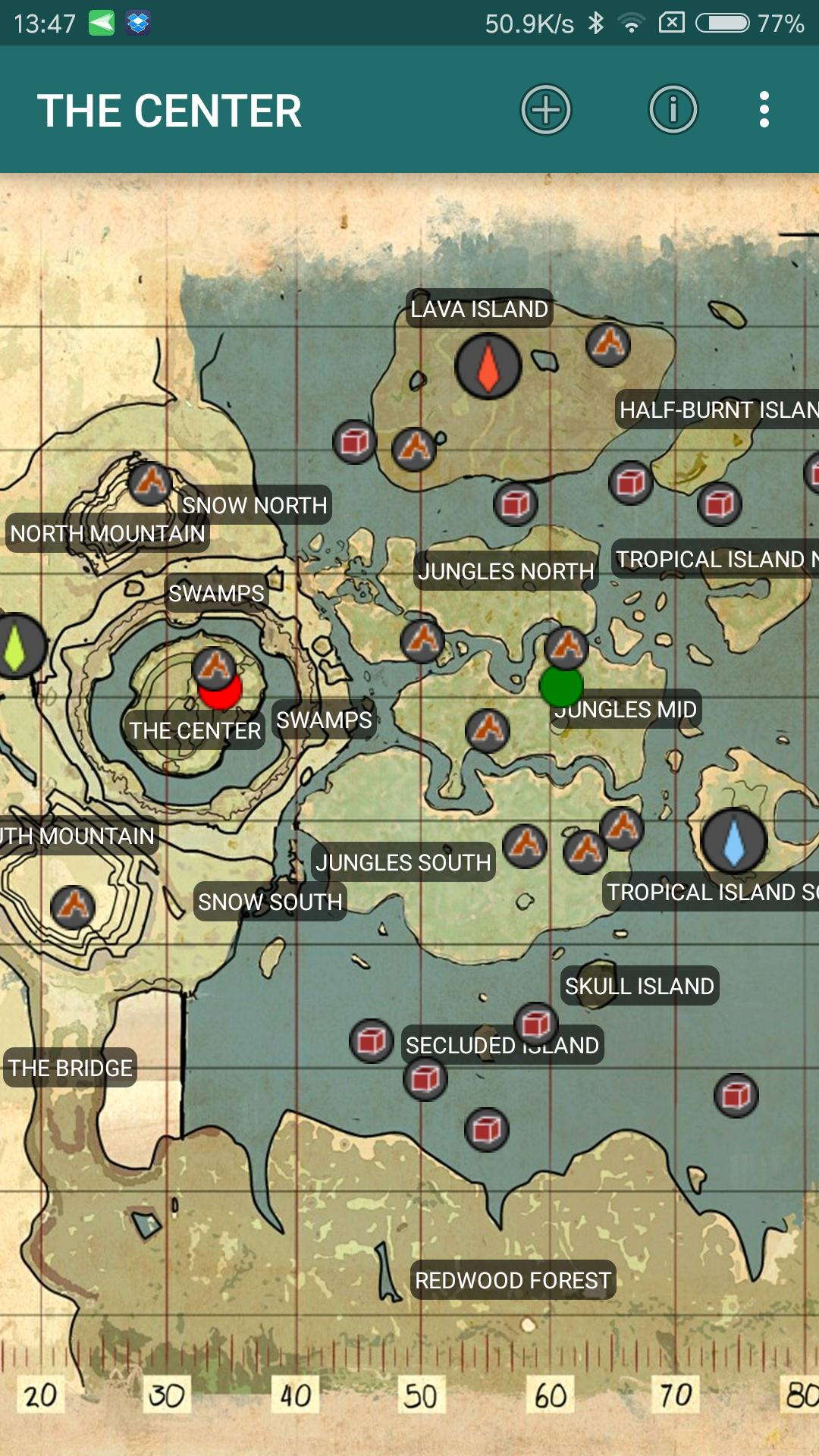 Dinotools Ark Survival Map For Android Apk Download
