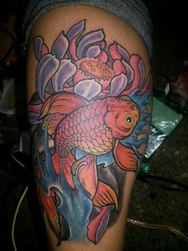 Koi Fish Tattoos screenshot 1