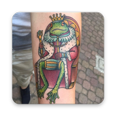 Lucky Frog Tattoo icon