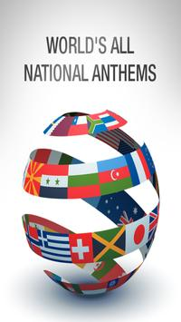 World's All National Anthems poster