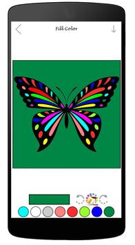Coloring Book Of Butterfly apk screenshot