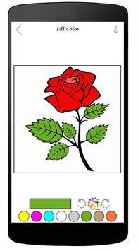Coloring Book Of Flowers apk screenshot