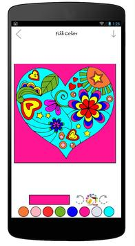 Coloring Book Of Love apk screenshot