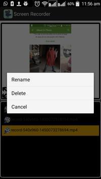 Screen Recoder apk screenshot