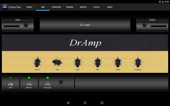 DrAmpFree - USB Guitar Amp poster