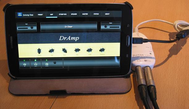 DrAmpFree - USB Guitar Amp screenshot 1