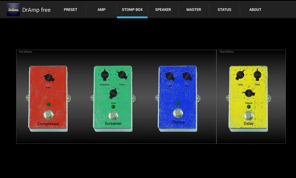 DrAmpFree - USB Guitar Amp screenshot 3