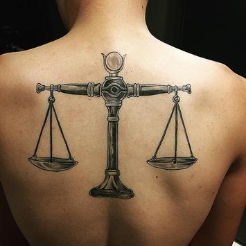Libra Tattoo poster
