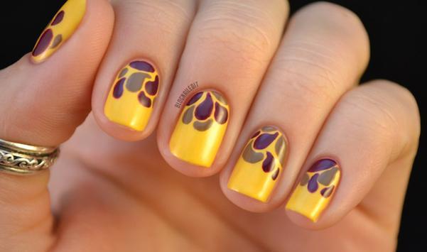 Mustard Yellow nails скриншот 2