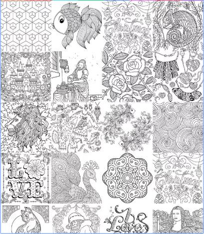 New Coloring Book 2017 - 新しいぬりえの本 2017 poster