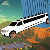 Limo Onmogelijke autorijden Simulator 3D-sporen-icoon