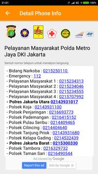 jakarta transportation info apk screenshot