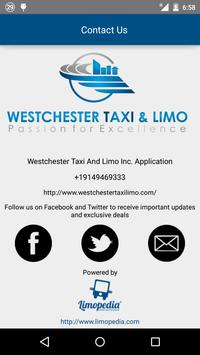 Westchester Taxi and Limo screenshot 2