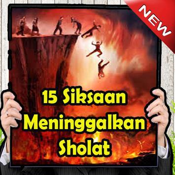 15 Siksaan yang Meninggalkan Sholat poster