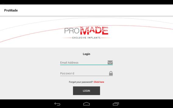 ProMade apk screenshot