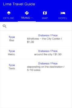 Lima Travel Guide apk screenshot