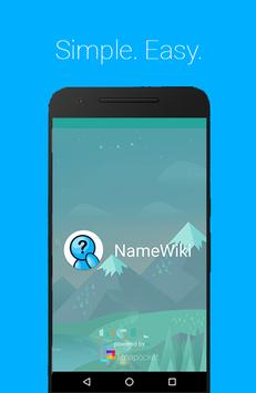 NameWiki poster