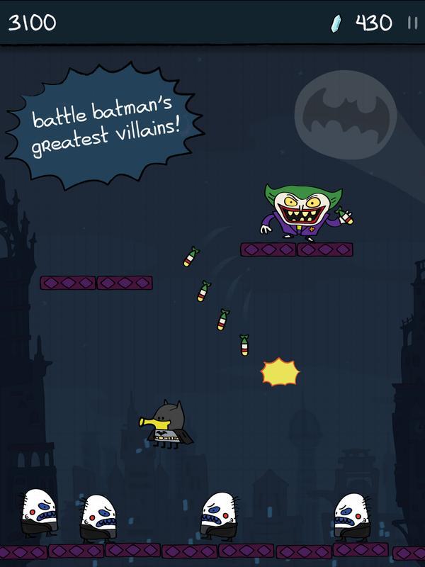 Doodle Jump Dc Super Heroes Für Android Apk Herunterladen