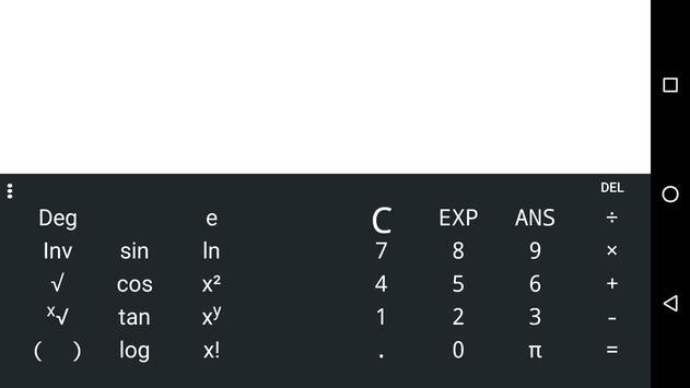 Scientific Calculator Limbwal screenshot 1
