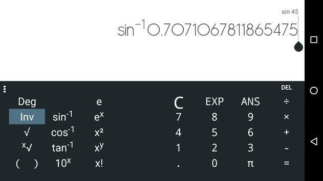 Scientific Calculator Limbwal screenshot 2