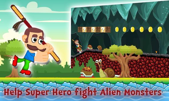 Super Mustache Run Adventure poster