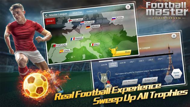 Football Master - Chain Eleven apk screenshot