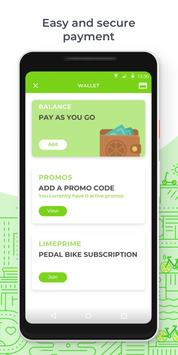Lime - Your Ride Anytime apk screenshot