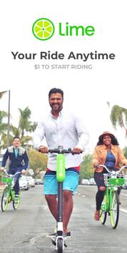 Lime - Your Ride Anytime poster