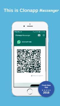 Clonapp Messenger Cartaz