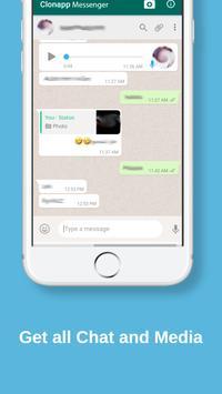 Clonapp Messenger imagem de tela 2