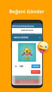 Limitsiz  Takipçi Kazan screenshot 2
