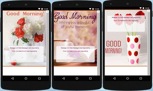 Morning Wishes: Cards & Frames apk screenshot