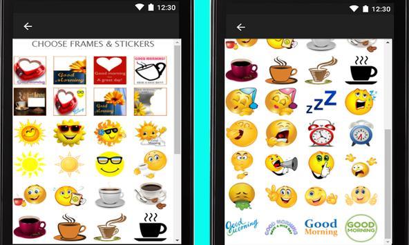 Morning Wishes: Cards & Frames apk screenshot