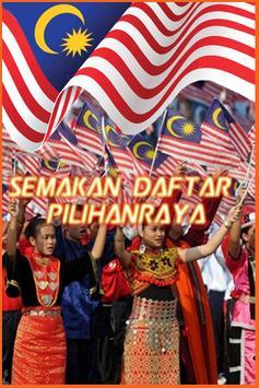 Semakan Pilihanraya Malaysia poster
