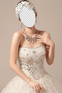 Chinese Wedding Dress Photo apk screenshot