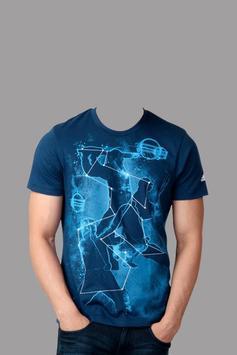 Man T-Shirt Photo Frame apk screenshot