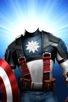Superhero Face Changer Mask poster