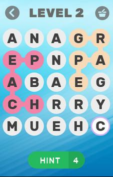 Find Word Fruits & Vegetables Name screenshot 1