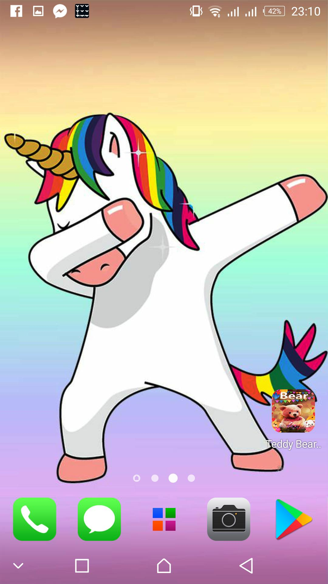 Unicorn Dab wallpapers Cute backgrounds for Android - APK ...