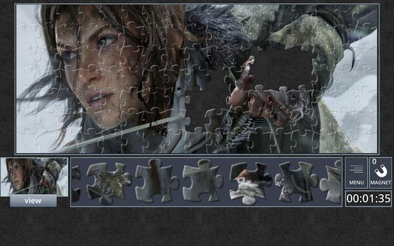 Tomb Raider Jigsaw Puzzles poster