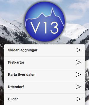 Vecka 13 Alpin v2 poster